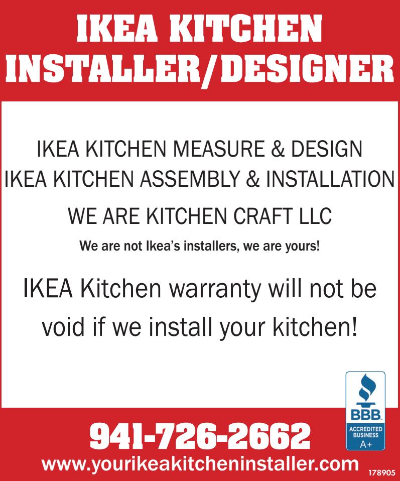 Kitchen Craft LLC - Ikea Kitchen Installation image 4