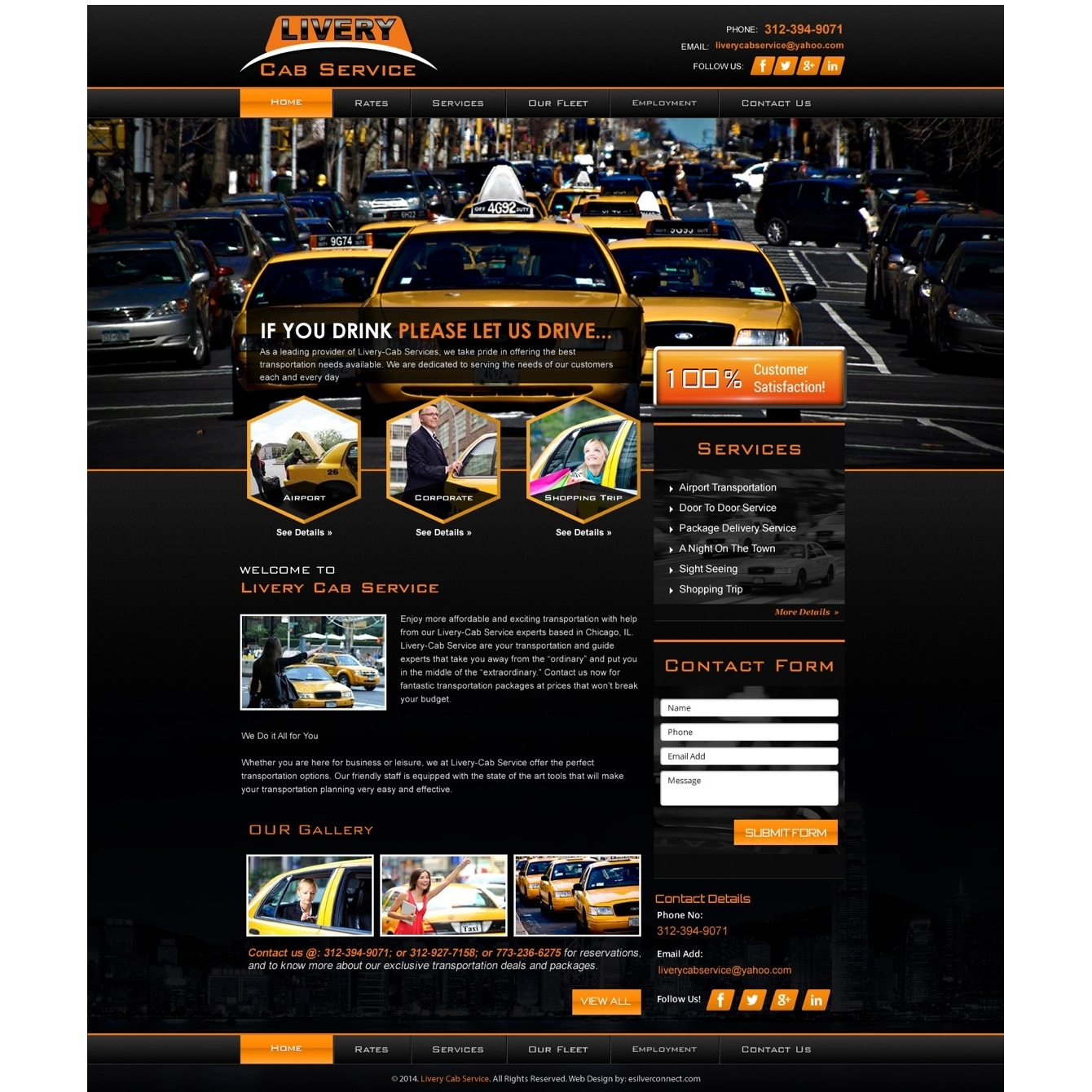 Livery Taxicab Service