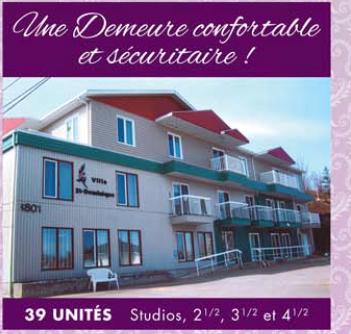 Villa St-Dominique à Jonquière