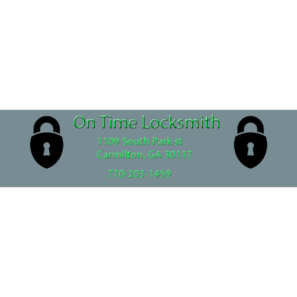 Locksmith in GA Carrollton 30117 On Time Locksmith 1109 S Park Street  (770)203-1459