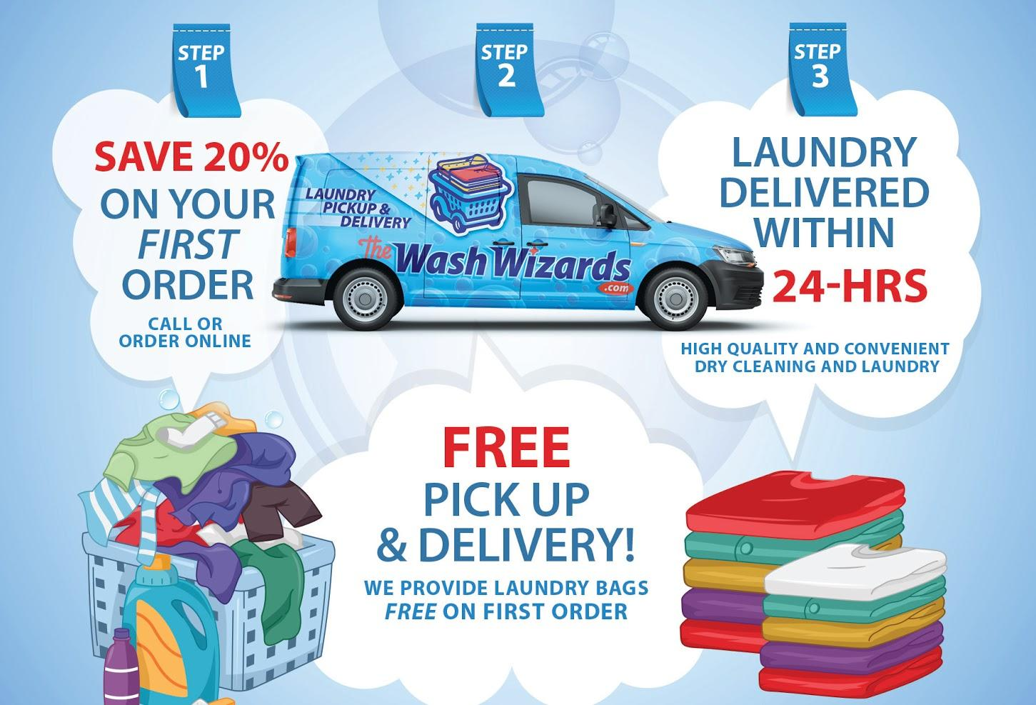 Wash Wizards Laundry Pickup & Delivery Service - Oxnard image 14