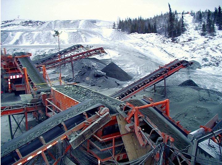 Béton Provincial Ltée à Rimouski: Production de granulats à béton