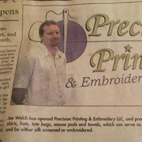 Precision Printing & Embroidery, LLC image 1