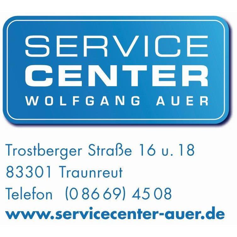 Logo von SERVICE CENTER Wolfgang Auer
