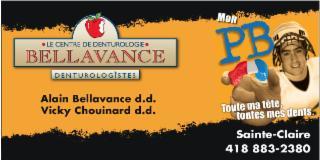 Clinique De Denturologie Alain Bellavance et Vicky Chouinard à Sainte-Claire