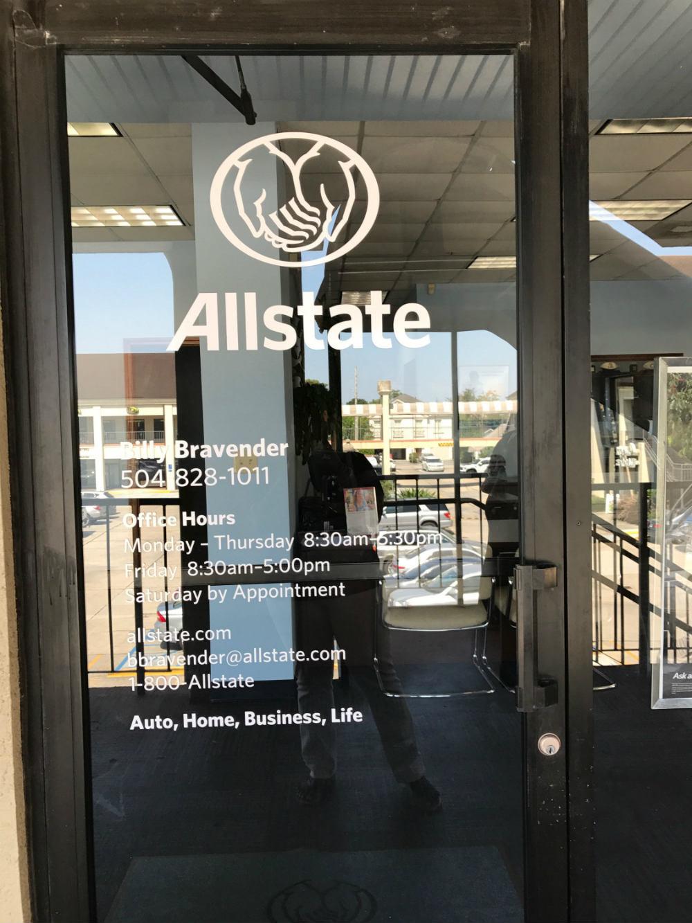 Allstate Insurance Agent: Billy Bravender image 1