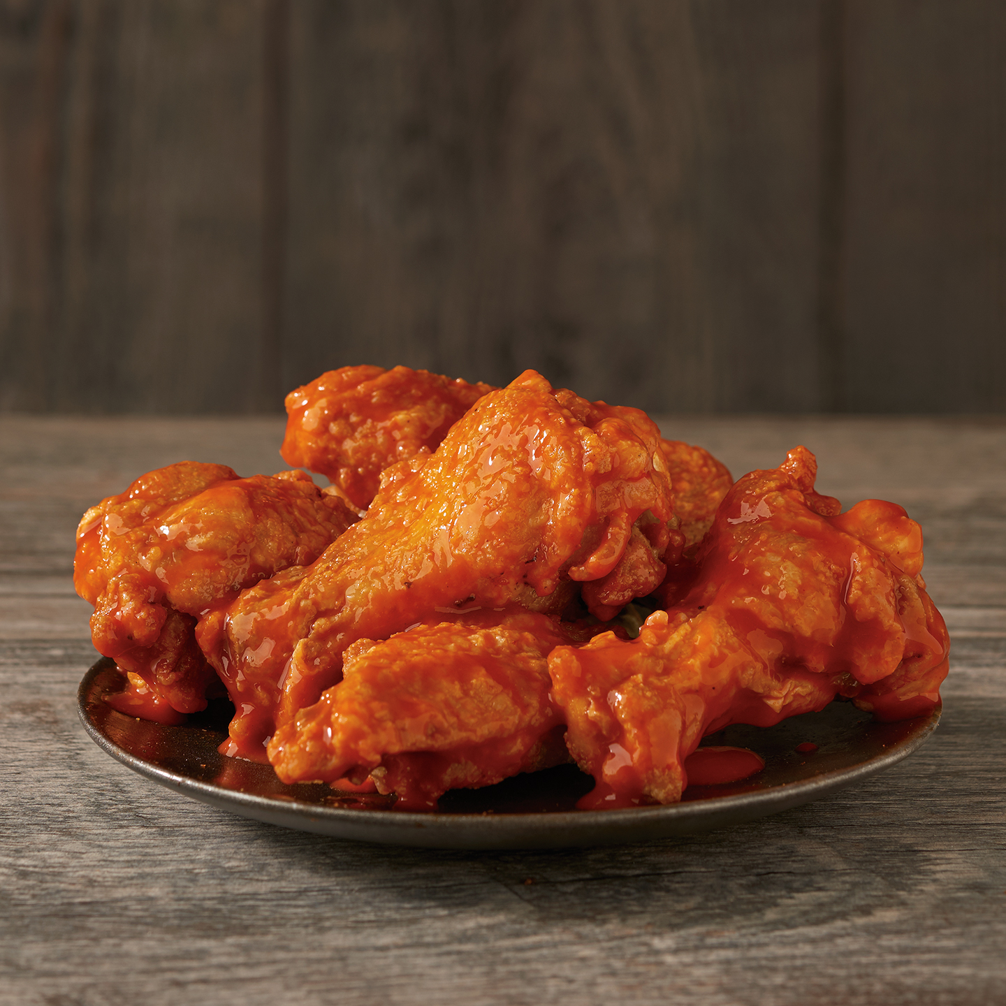 Five Fearless Flavors. They're not called crazy good for nothing. All of our authentic Classic Wings come swimming in flavor. Try 'em sauced and tossed in a variety of over-the-top flavors and sizes.
