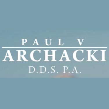 Paul V Archacki, D.D.S. P.A.