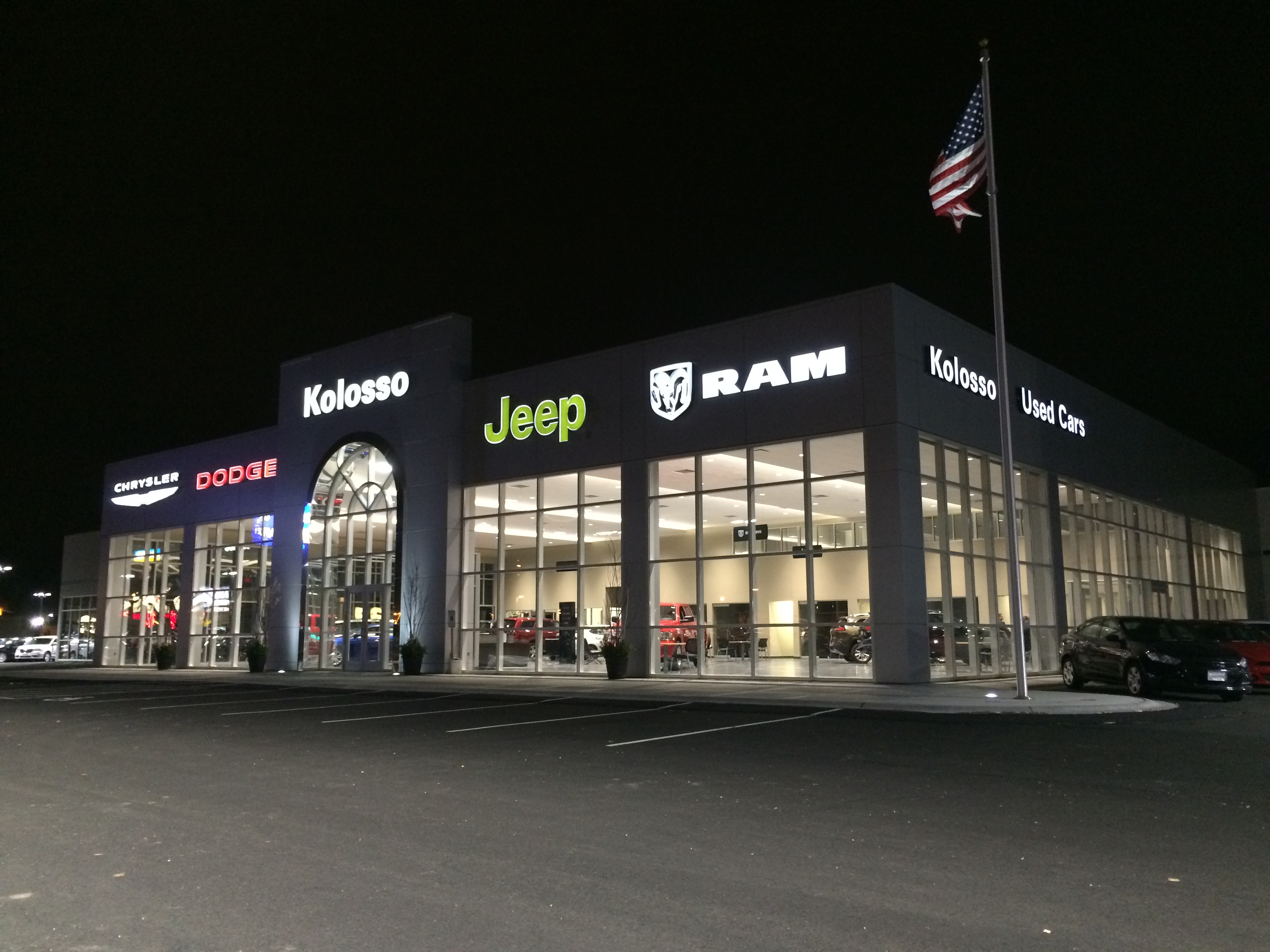 Kolosso Chrysler Jeep Dodge Ram In Appleton Wi Whitepages