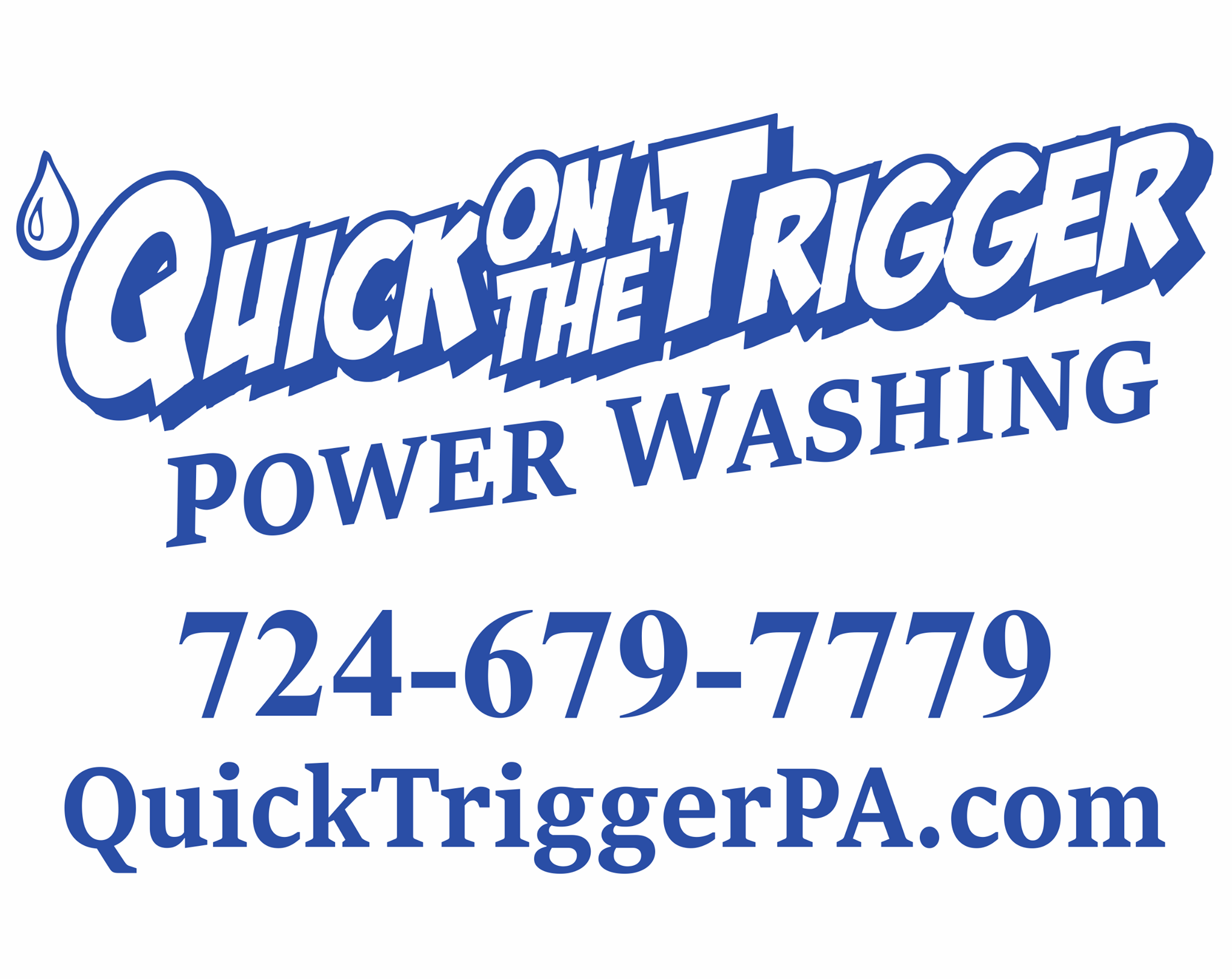 Quick On The Trigger Power Washing LLC image 0