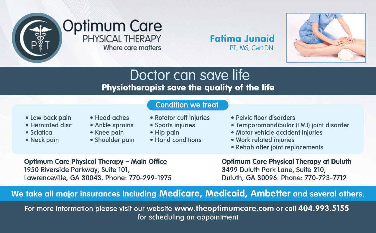 Herniated disc physical therapy - Optimum Care Physical Therapy