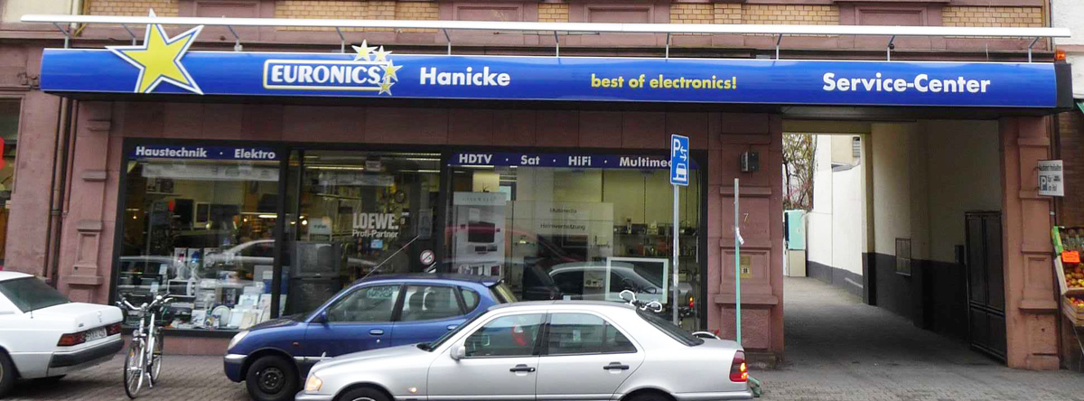 EURONICS Hanicke, Lorscher Str. 7 in Frankfurt am Main