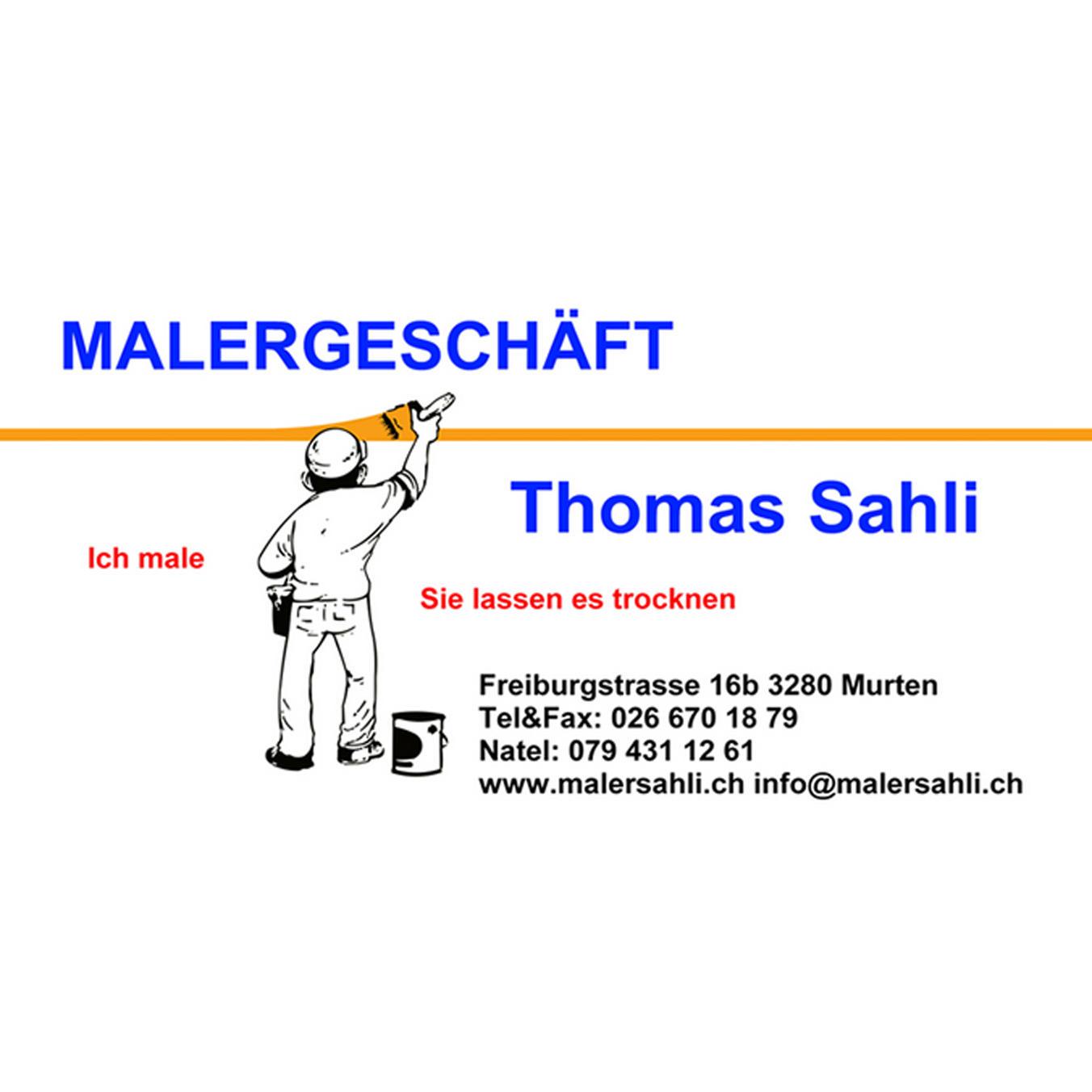 Thomas Sahli Malergeschäft