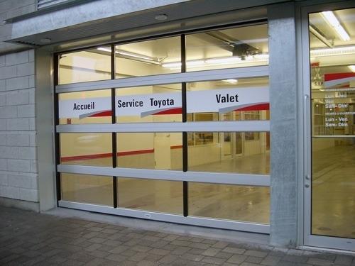 Portes de garage Lafleur à Longueuil