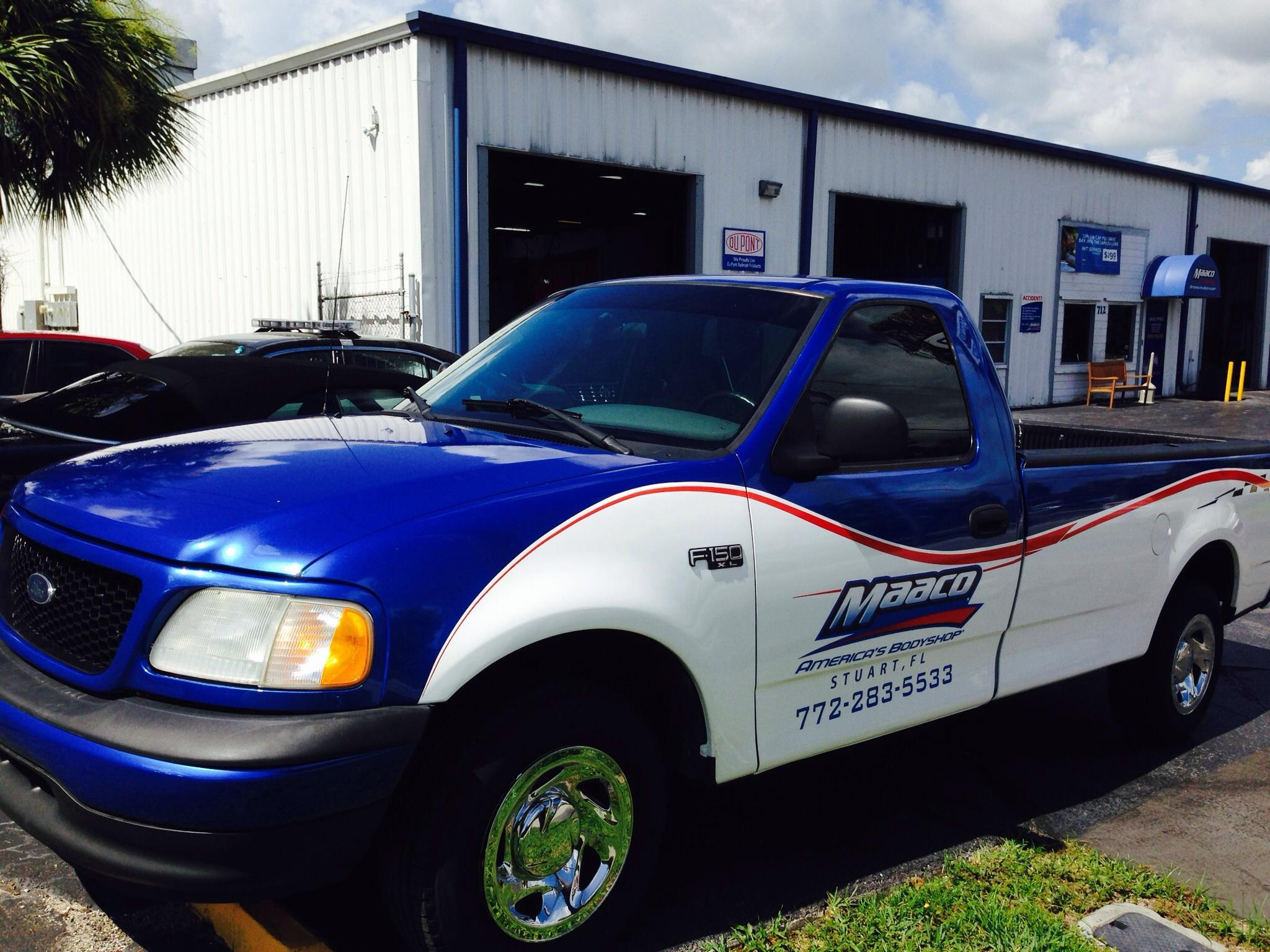 Maaco collision repair auto painting in stuart fl for Maaco paint and body