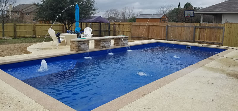 Blue Bottom Pools - Austin