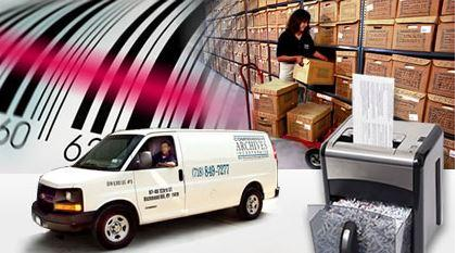 We do it all, from storage to shredding!  We even pick up at your location to save you time!