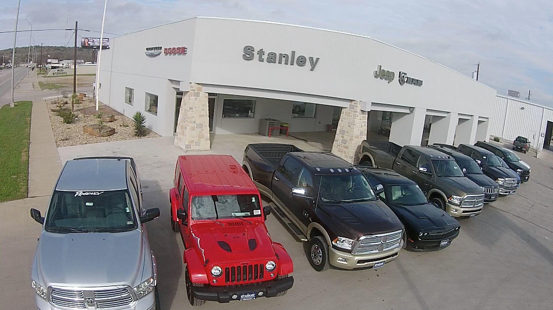 Stanley Chrysler Dodge Jeep Ram Brownwood image 0