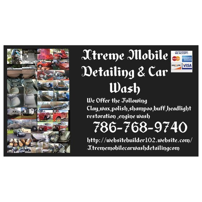 Xtreme mobile Detailing  and  car wash