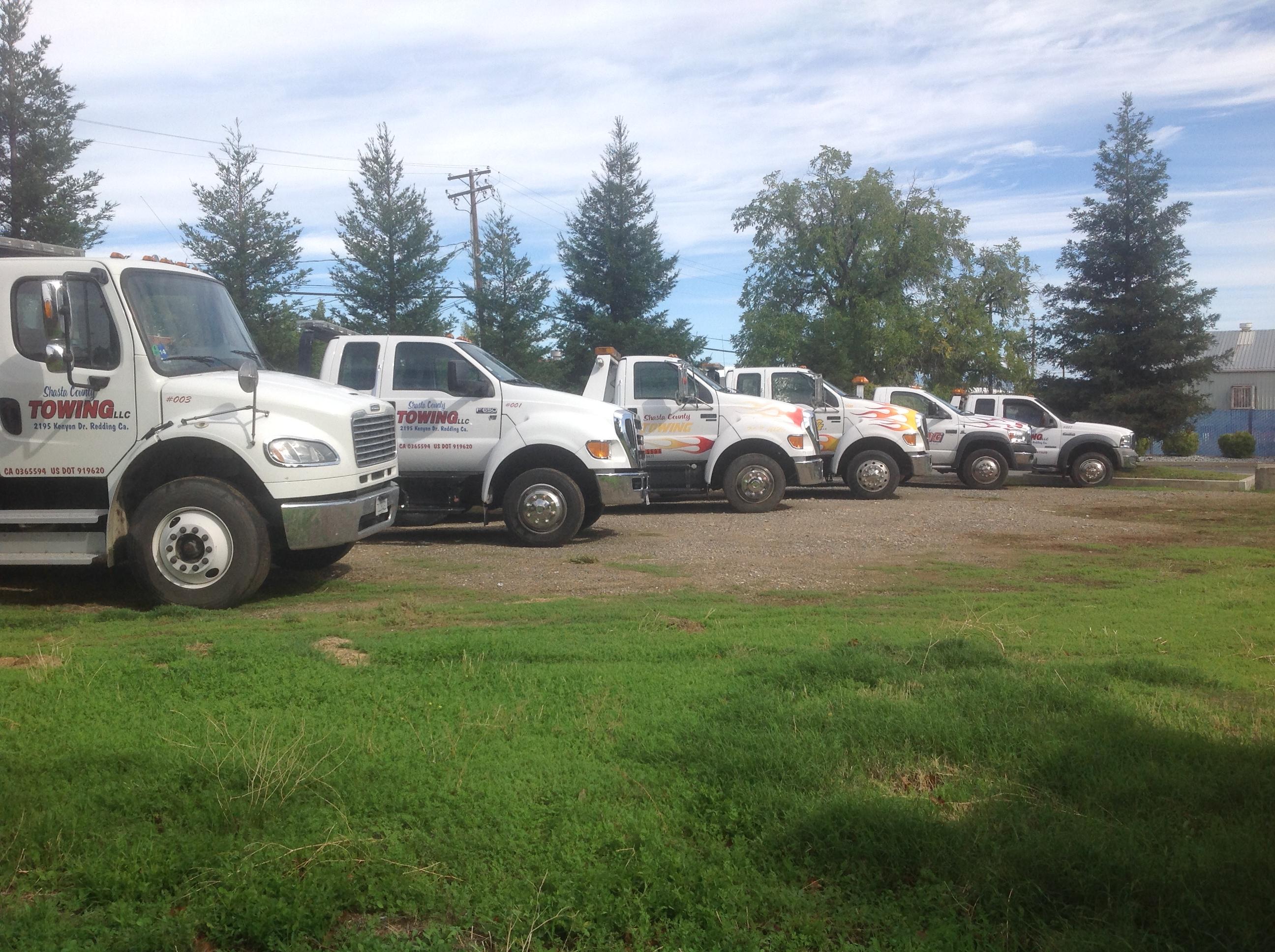 Shasta county towing llc at 2195 kenyon dr redding ca on for Shasta motors redding california