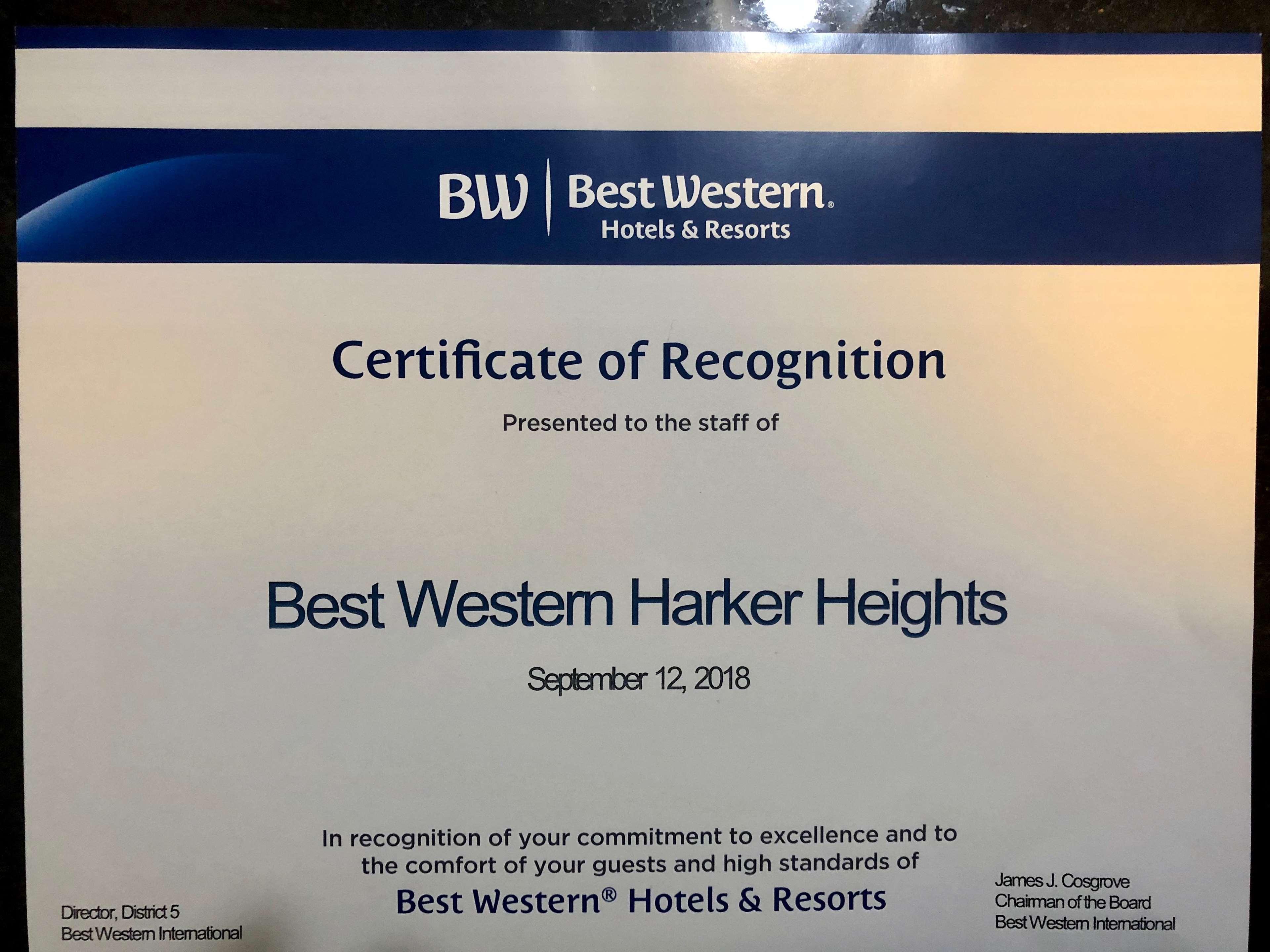 Best Western Harker Heights image 29