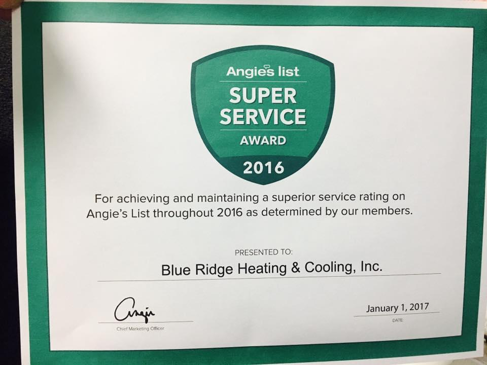 Blue Ridge Heating And Cooling Inc image 4