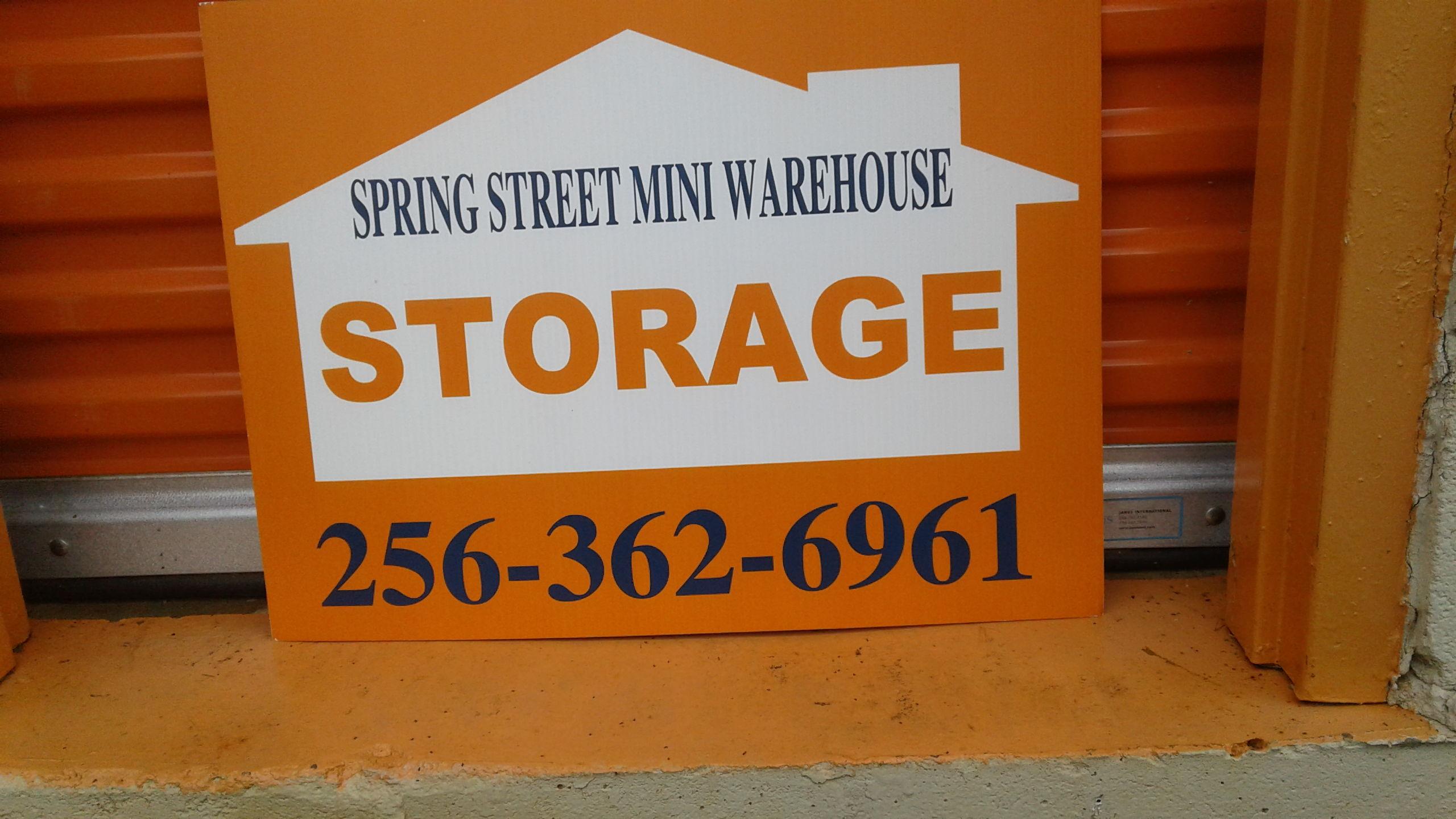 Spring Street Mini Warehouse