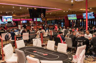 TV Screens covering all the sports you want while you play poker!