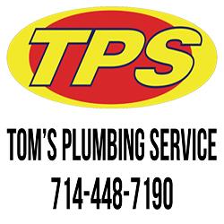 Plumber in CA La Habra 90631 Tom's Plumbing Service TPS - La Habra 431 S. Harbor Blvd.  (714)448-7190