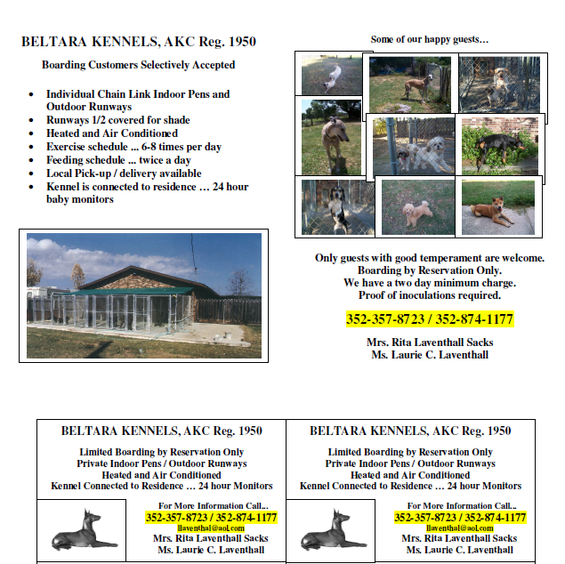 Beltara Kennels AKC REG image 1