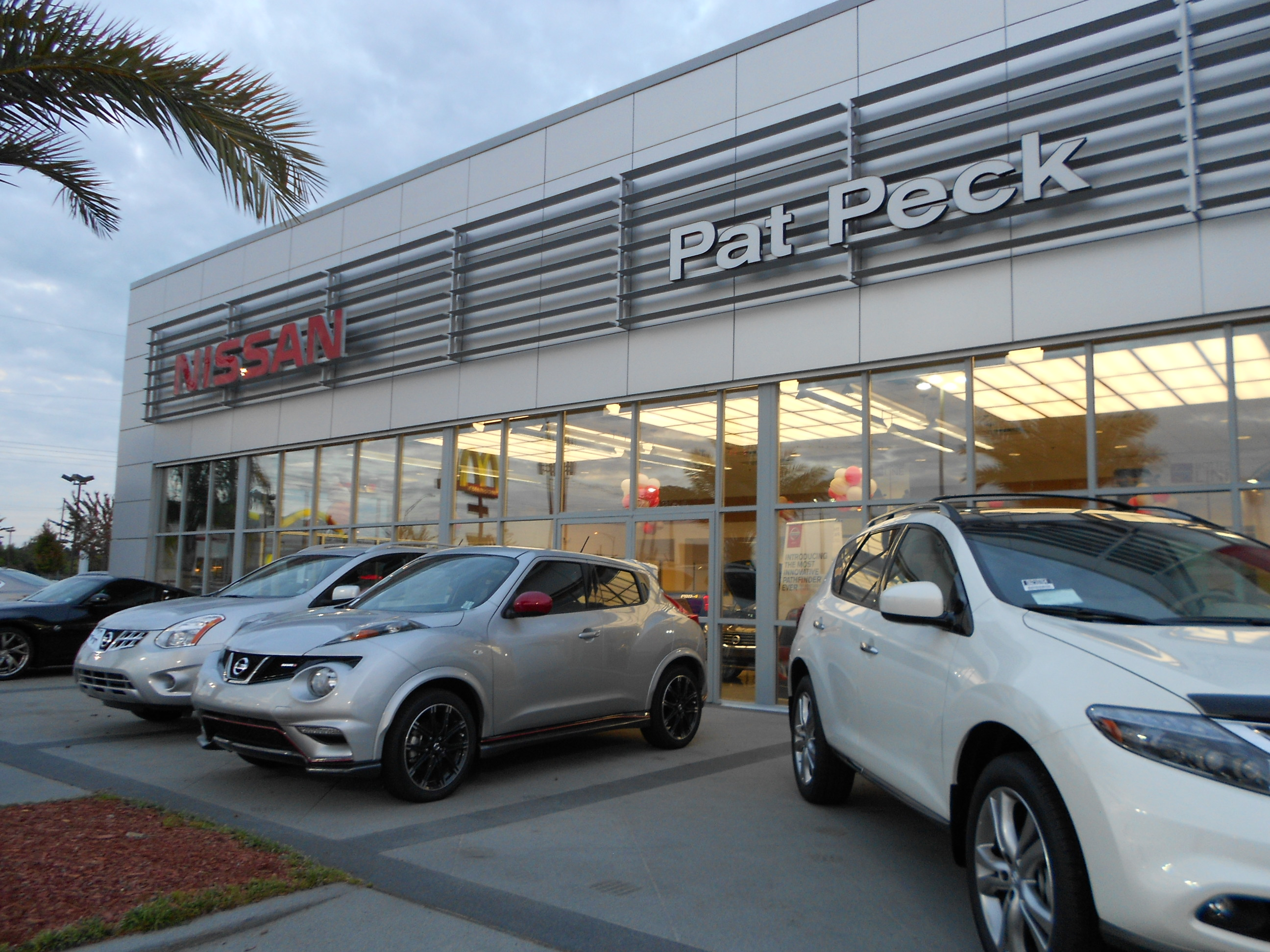 Butch Oustalet Ford >> Pat Peck Nissan - Gulfport at 9480 US Highway 49, Gulfport, MS on Fave