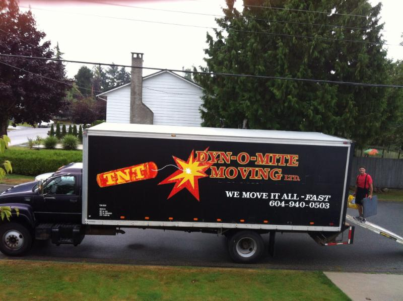 TNT Dyn-o-mite Moving Ltd in Delta