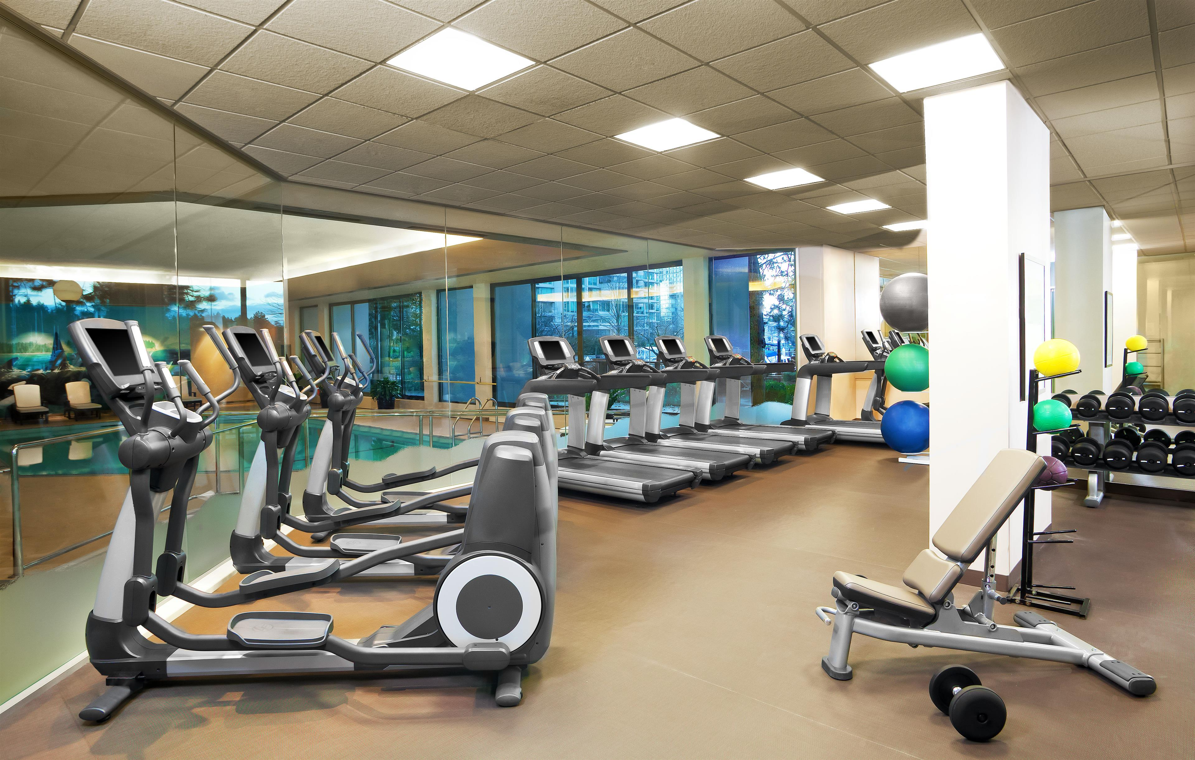 The Westin Bayshore, Vancouver in Vancouver: Fitness Center
