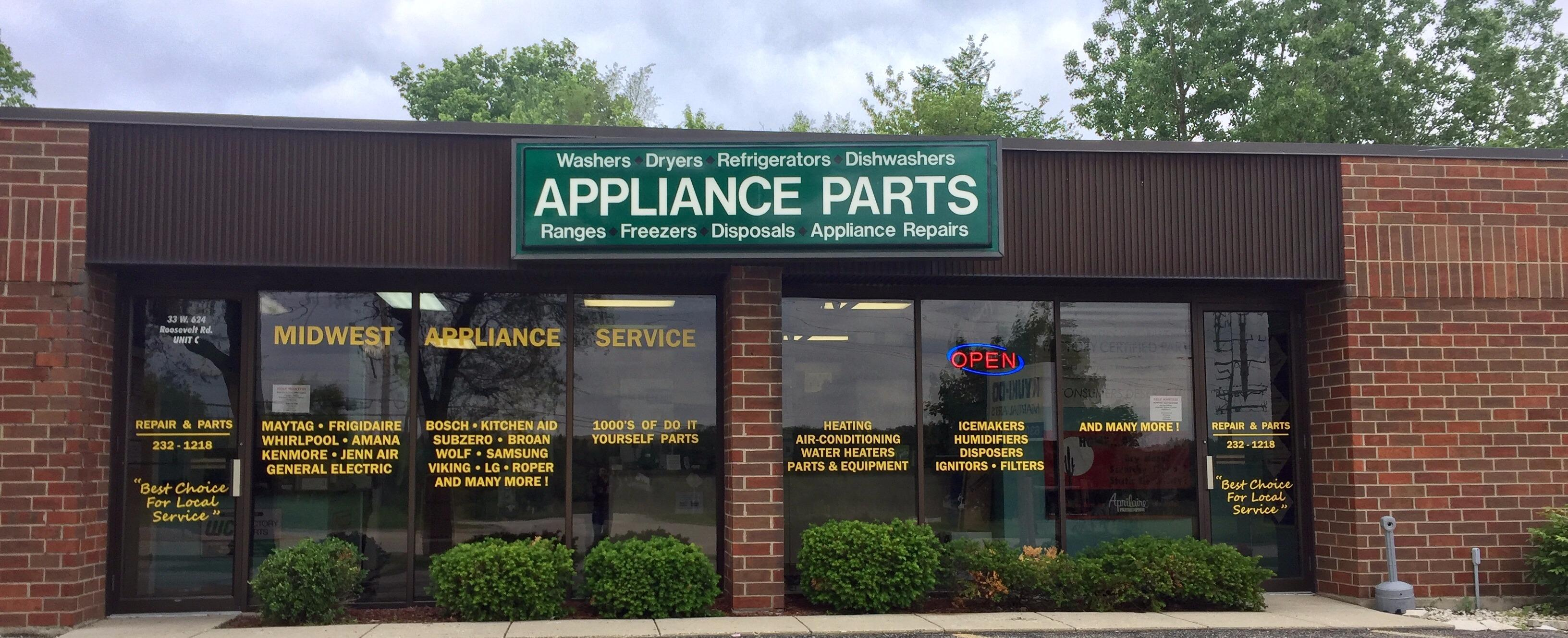 For Midwest Appliance Parts we currently have 1 coupons and 0 deals. Our users can save with our coupons on average about $ Todays best offer is On Sale!. If you can't find a coupon or a deal for you product then sign up for alerts and you will get updates on .