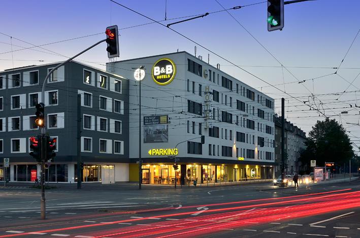 B&B Hotel Düsseldorf-Hbf, Kettwiger Straße 6 in Düsseldorf