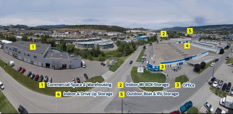 Space Centre Self Storage in Kelowna: Our Facility