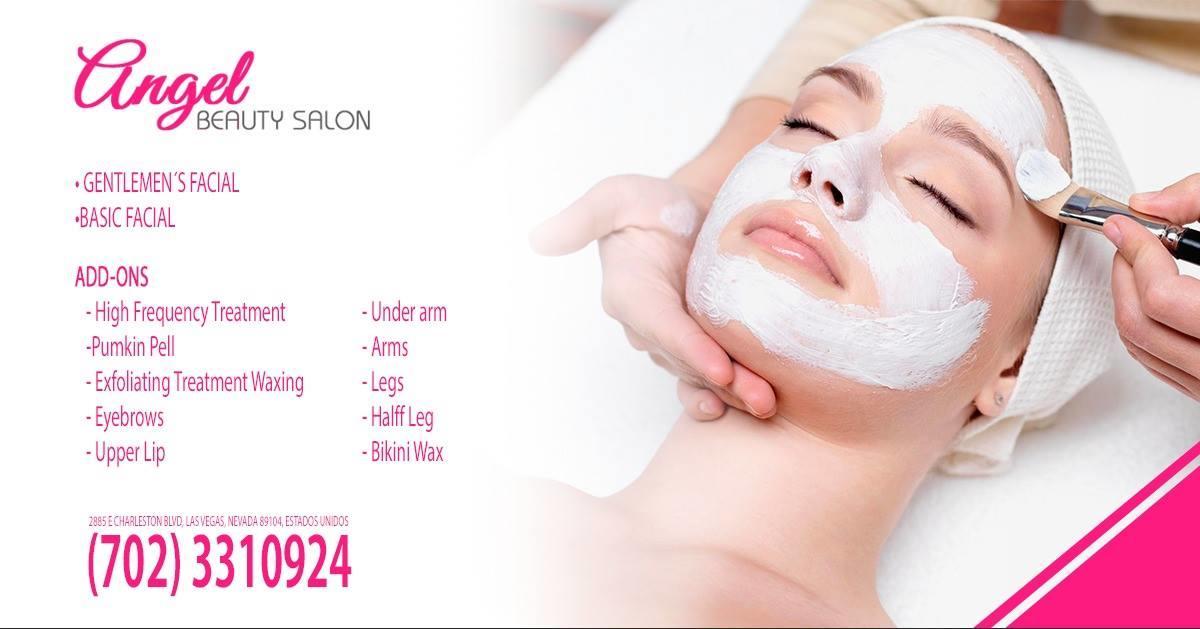 facial basic, beauty salon
