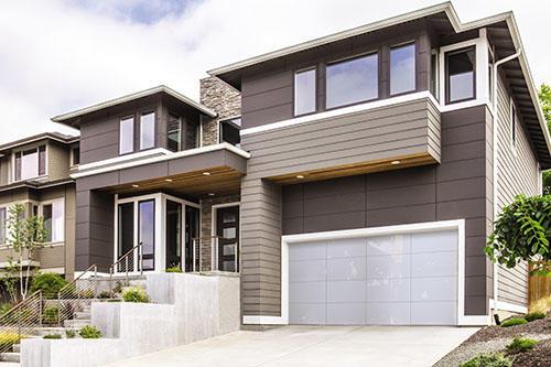 Creative Door - Vancouver Garage Door & Overhead Door Specialists in Delta: Wayne Dalton Aluminum Glass Garage Door Model 8450