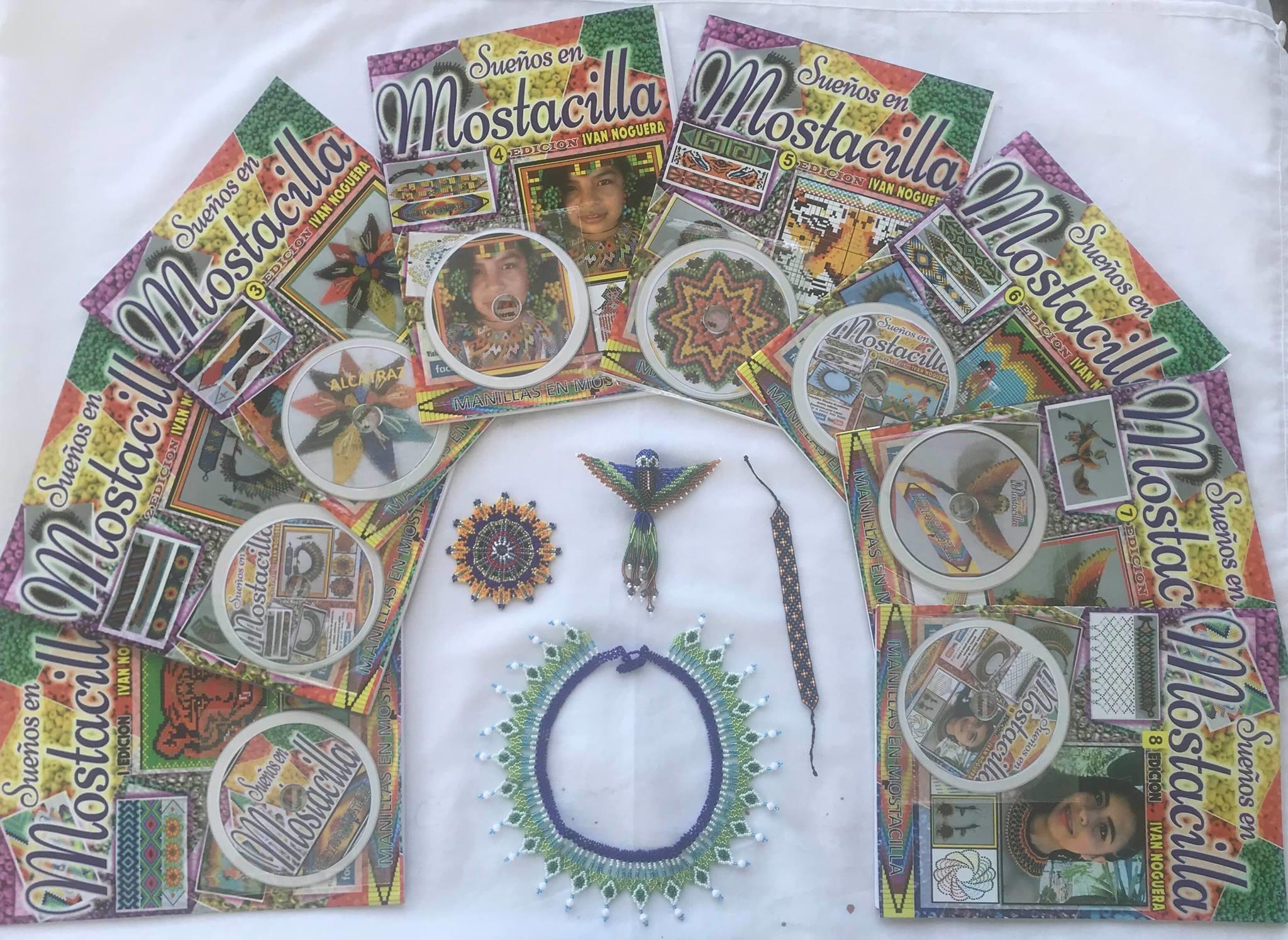 Artesanías en Mostacilla