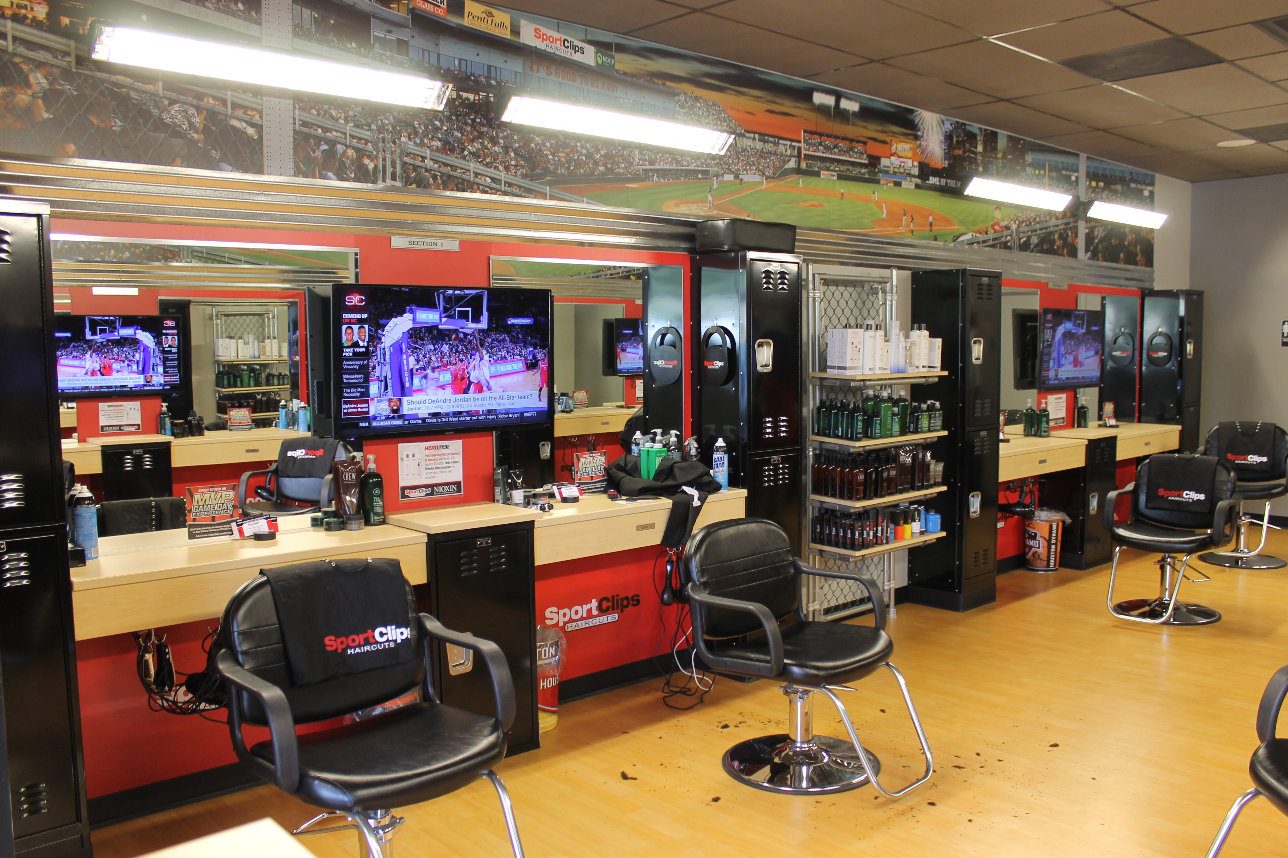 Check in online and visit Sport Clips for the ultimate MVP Haircut Experience! Check in online for your next haircut anytime, anywhere! It's convenient, flexible and saves you time. Stylists who know men's hairstyles – From the classic haircut to cutting edge, we have the expertise and experience to create the perfect look for you.