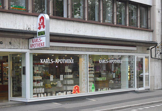 Karls-Apotheke - Closed, Leopoldring 5 in Freiburg