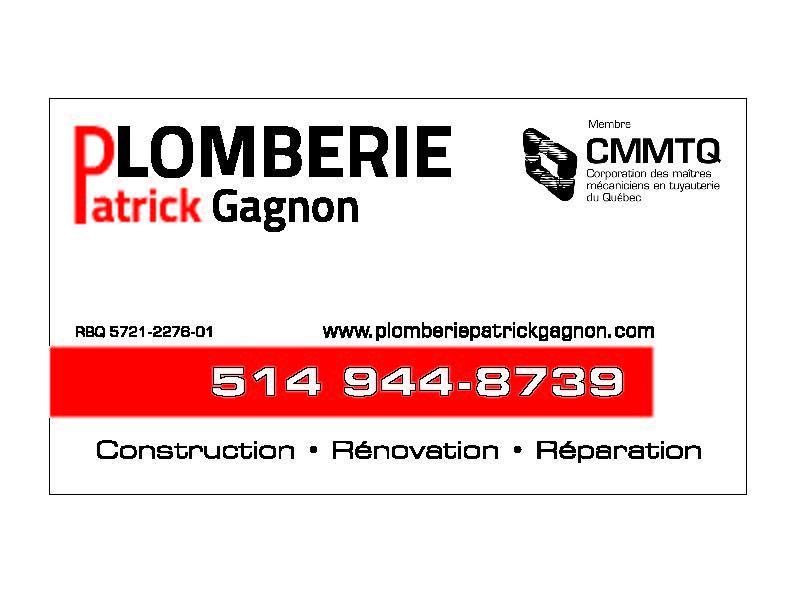 Plomberie Patrick Gagnon