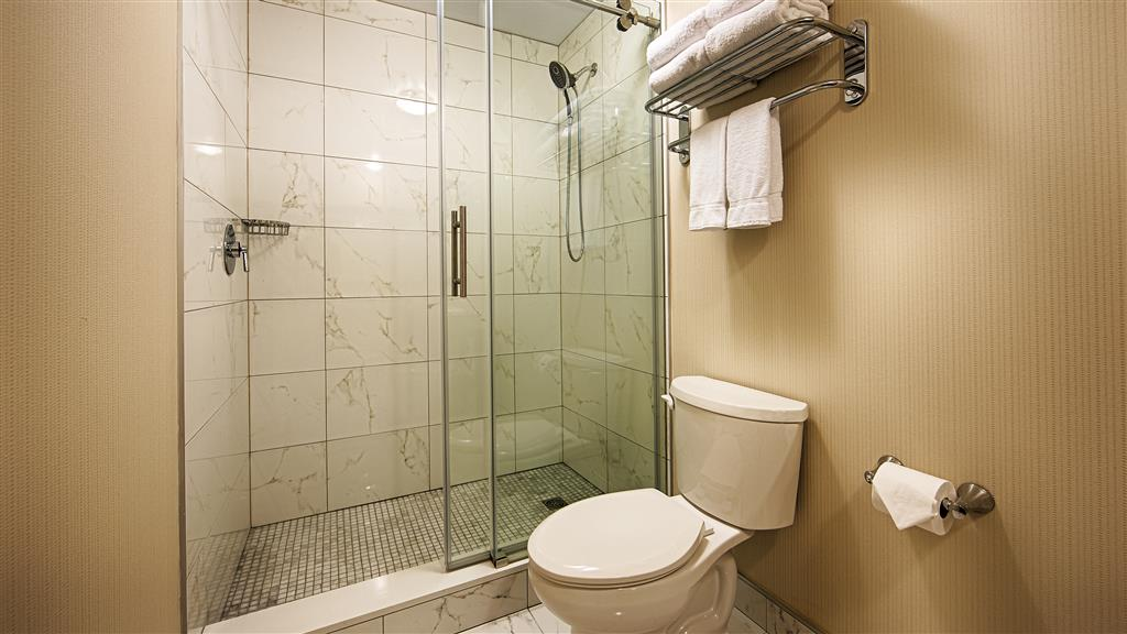 Best Western Plus Montreal Downtown-Hotel Europa à Montreal: Shower Only Bathroom