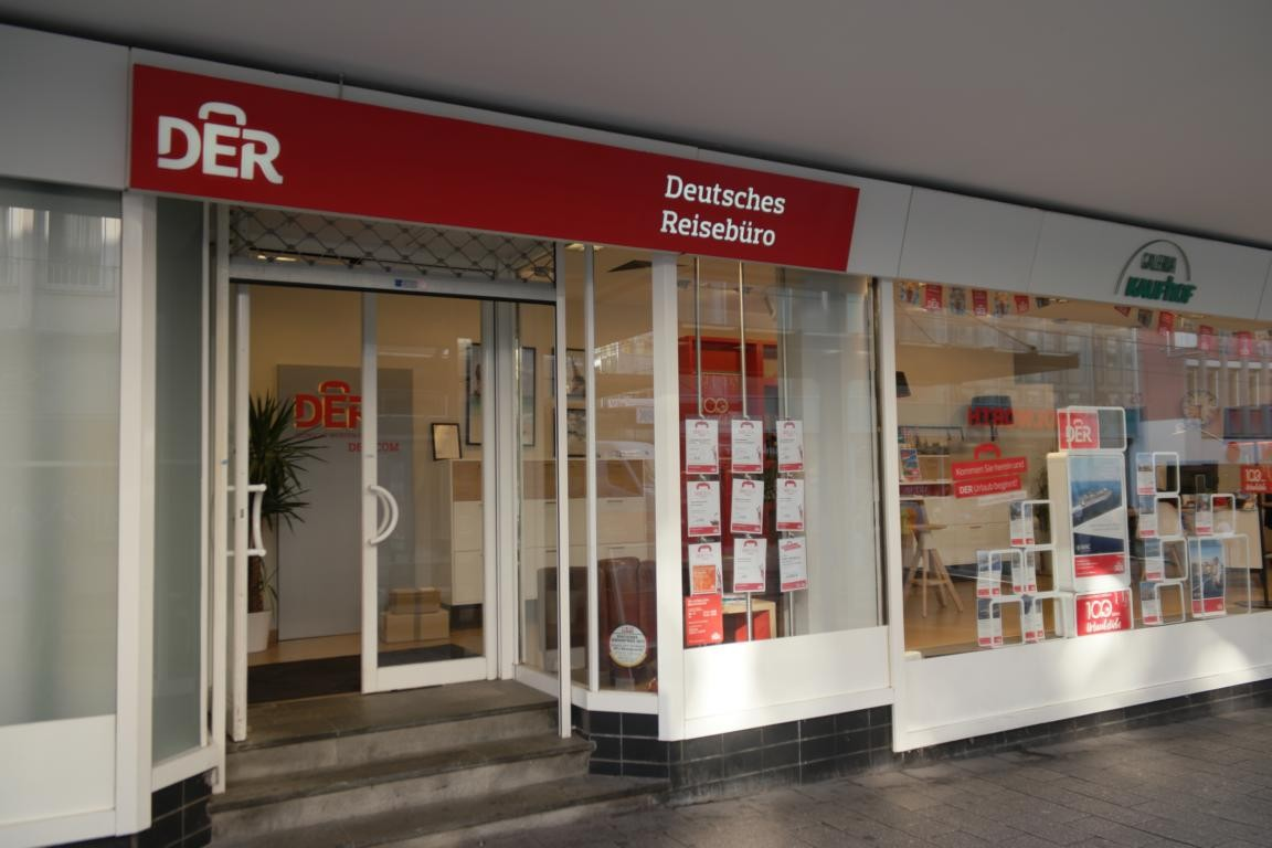 DER Deutsches Reisebüro, Bahnhofstraße 5 in Witten