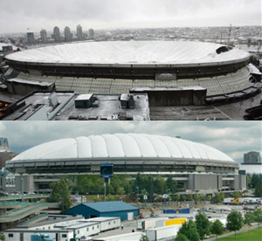 ALARA Environmental Health & Safety in Vancouver: Notable projects: BC Place Stadium