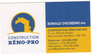 Construction Réno-Pro Inc