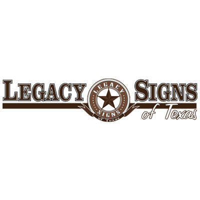 Legacy Signs Of Texas