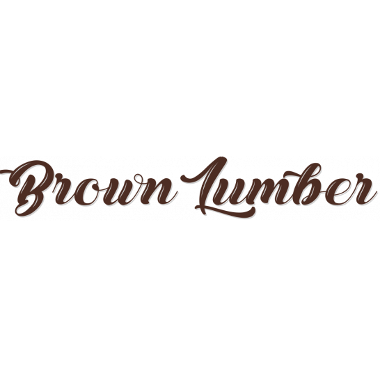 Brown Lumber Company