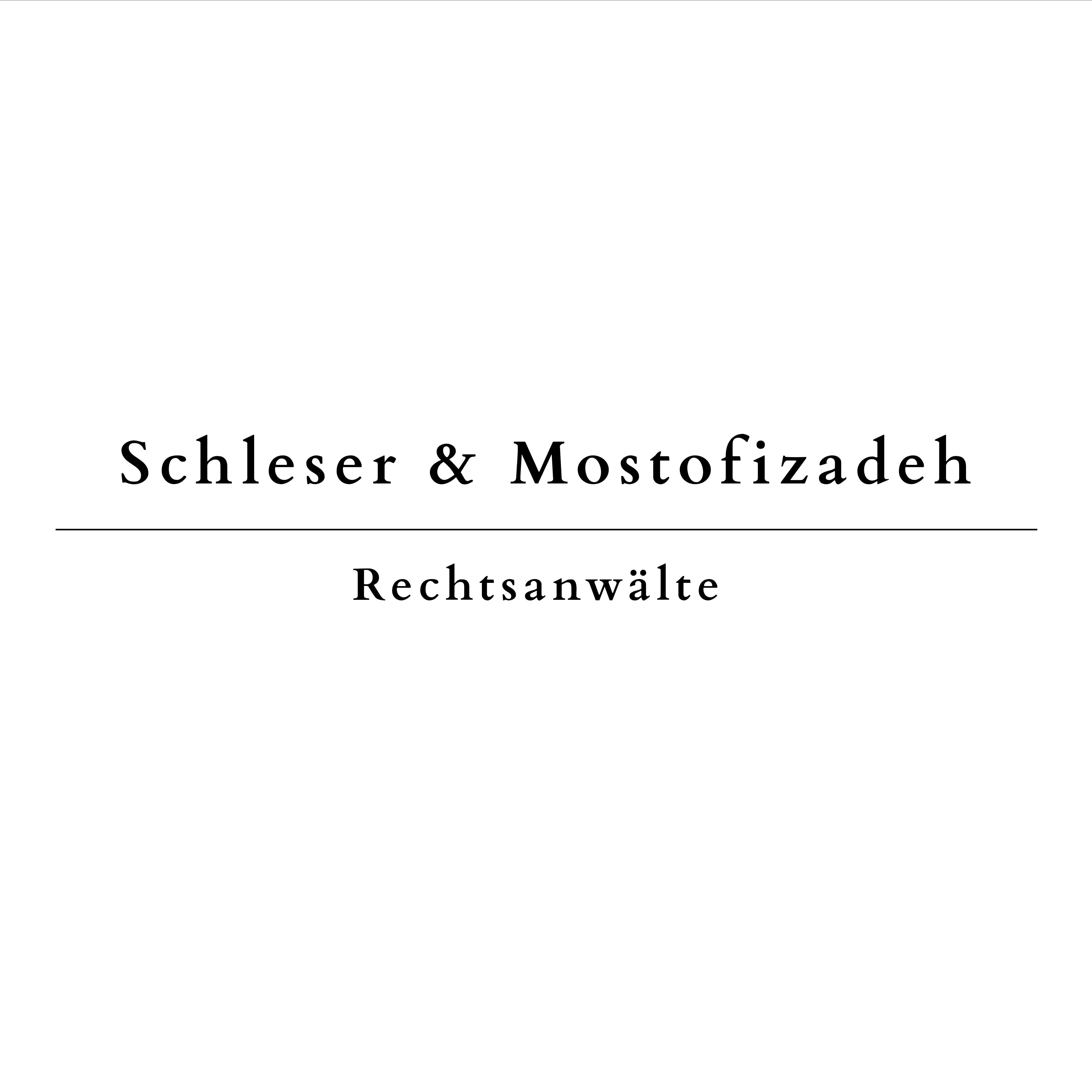 Schleser Mostofizadeh - Rechtsanwälte