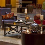 Atrium Seating at the Renaissance Austin Hotel